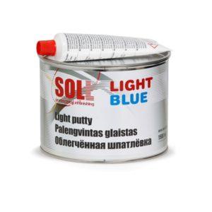 Kergpahtel SOLL Light Blue 1,5L, sinist värvi