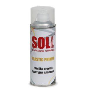 krunt plastikule läbipaistev soll