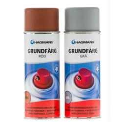 Kruntvärv Hagmans Grundfärg 400 ml (hall/punane).