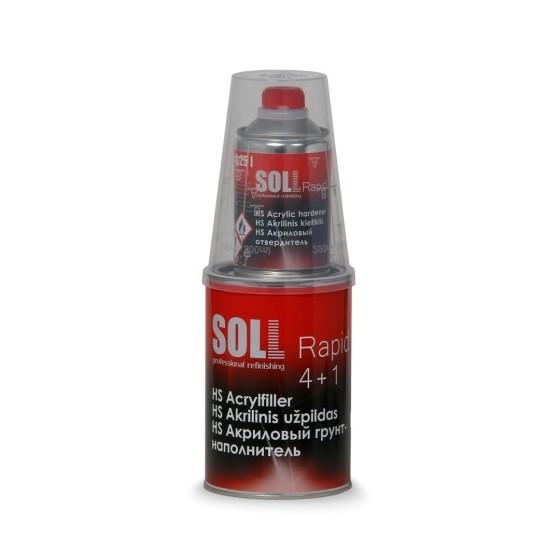 Akrüülkrunt SOLL Rapid 4+1 HS kõvendiga