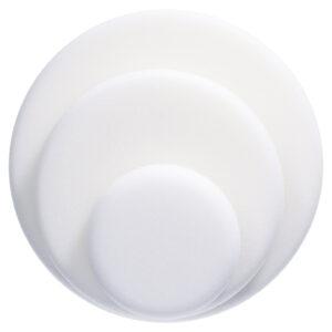 Poleerpadi FINIXA valge kõva, krõpsuga