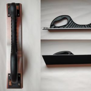 Klots AB 70x400 klamber krõps metallist hõbe/must.