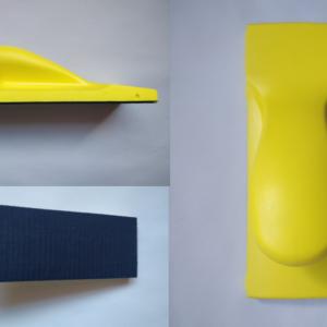 Lihvpaberi hoidja 70x200mm kollane krõps